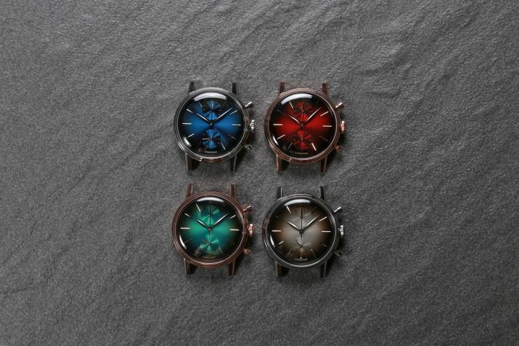undone wrist watch four dial style