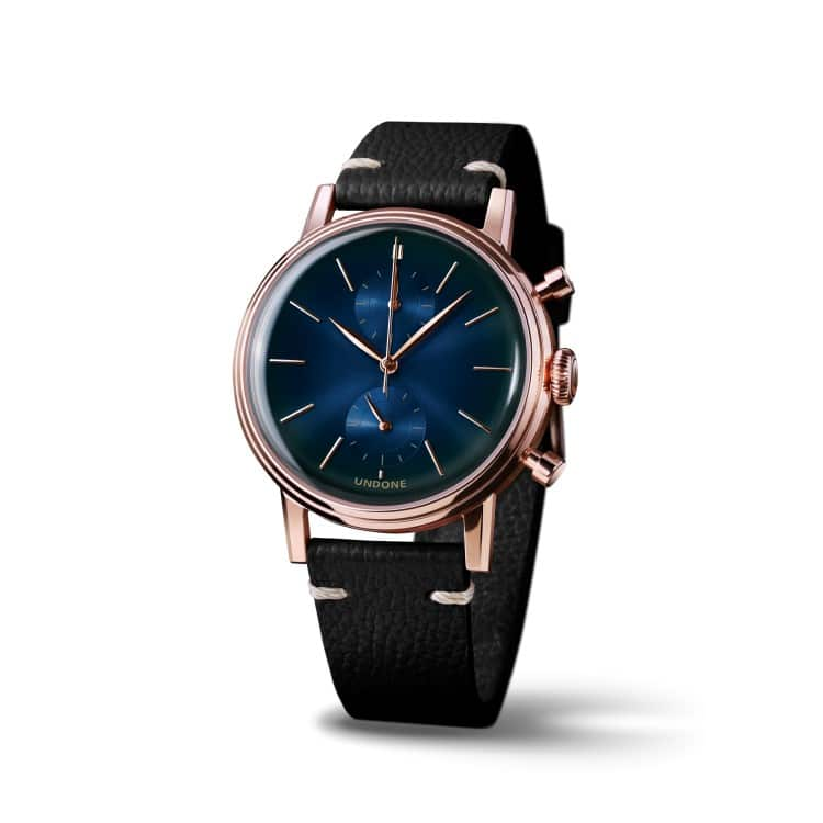 undone a blue colors watches
