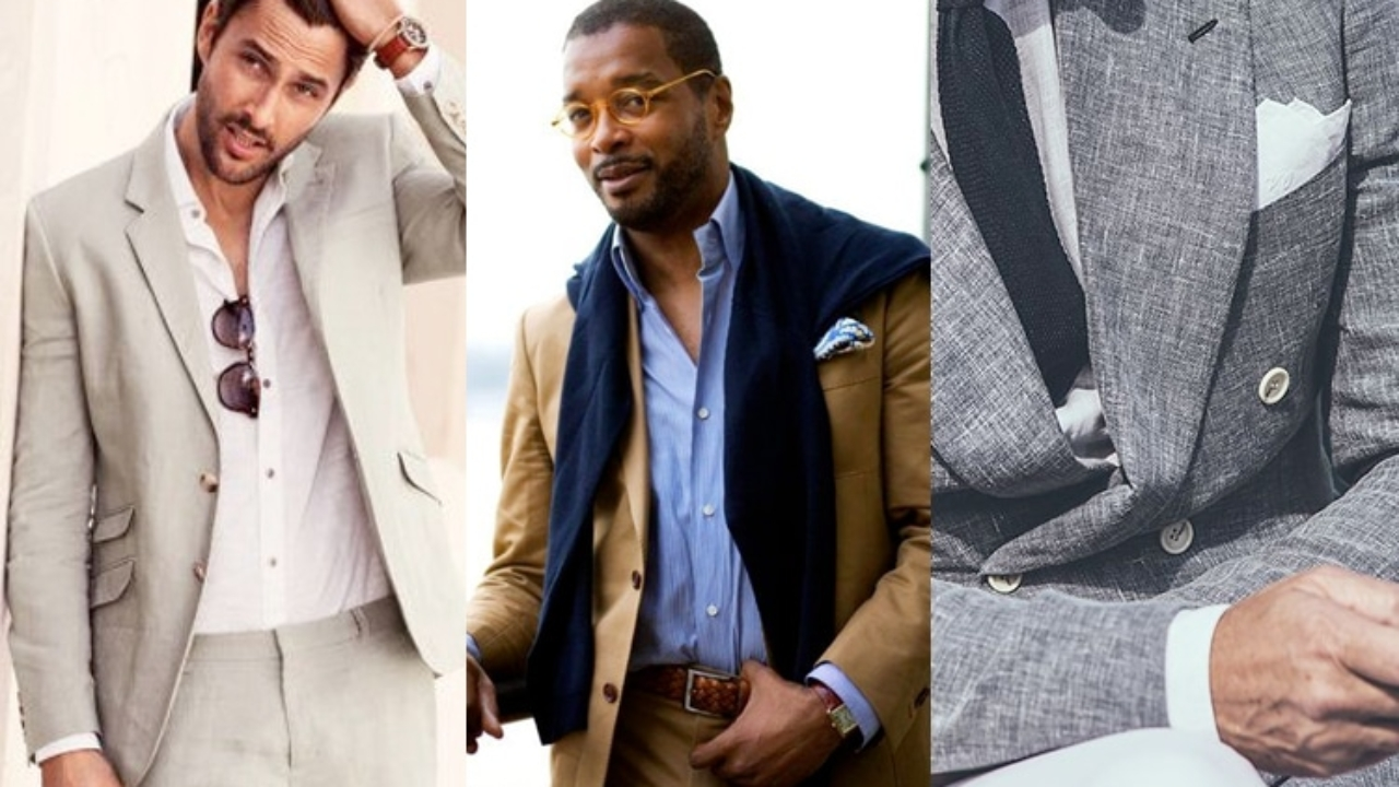 Tips for Wearing a Men's Linen Suit   Man of Many