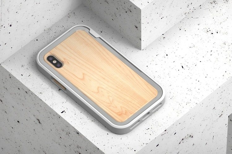 iphone x grovemade minimalist tough case back