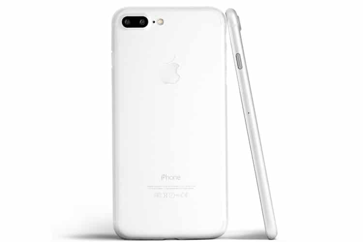 totallee iphone 8 and 8 plus white case