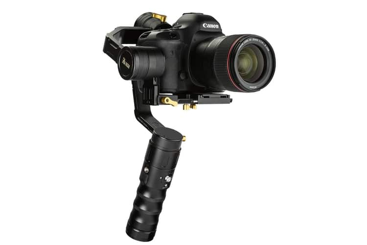 ikan beholder 3 axis gimbal stabilizer