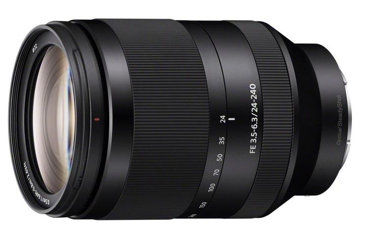 sony fe 24 240mm oss zoom lens