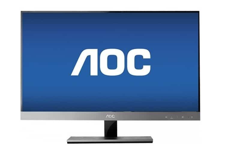 aoc 27 flat panel ips led hd monitor