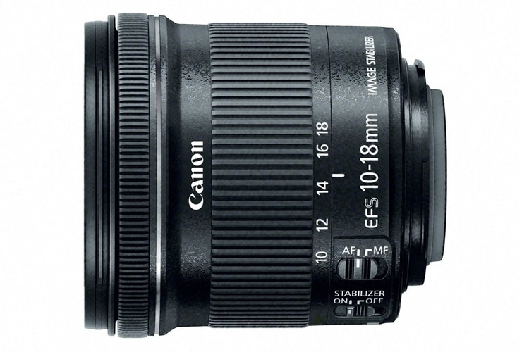 canon efs 10 18mm f/4.5-5.6 is stm lens