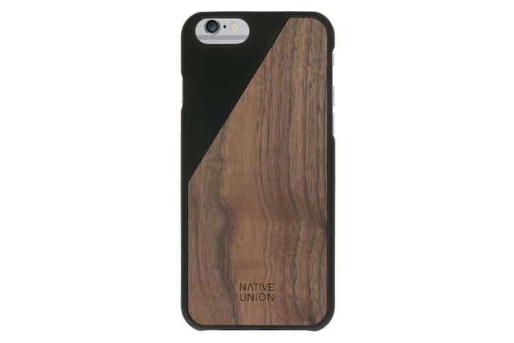iphone native union clic wooden case
