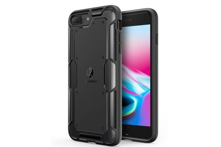 anker iphone x case rear and front