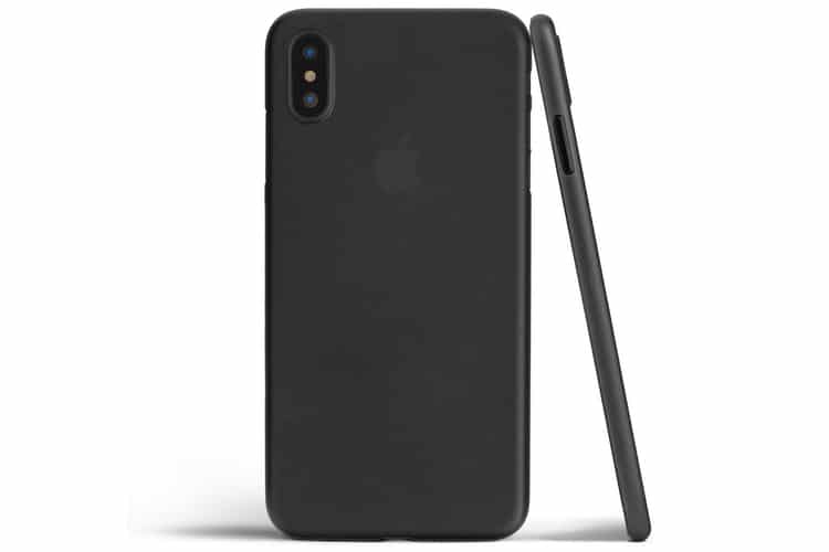totallee iphone x case rear and side
