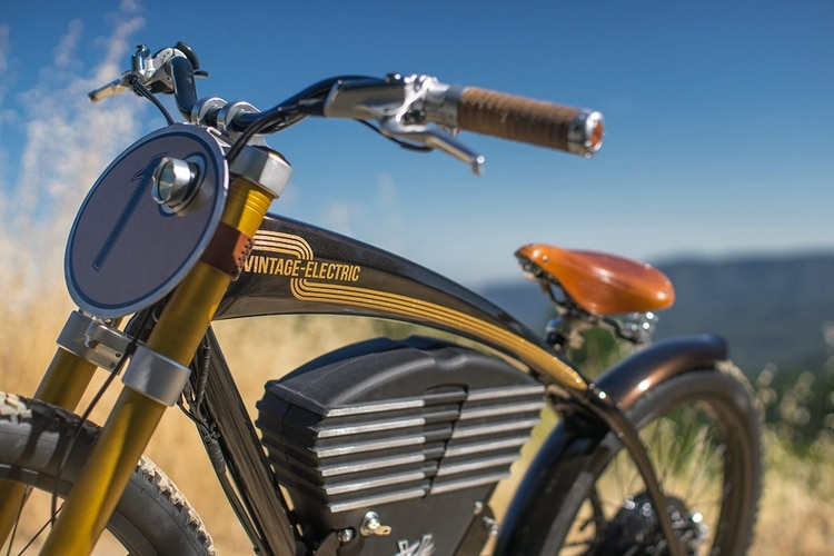 vintage electric scrambler top design