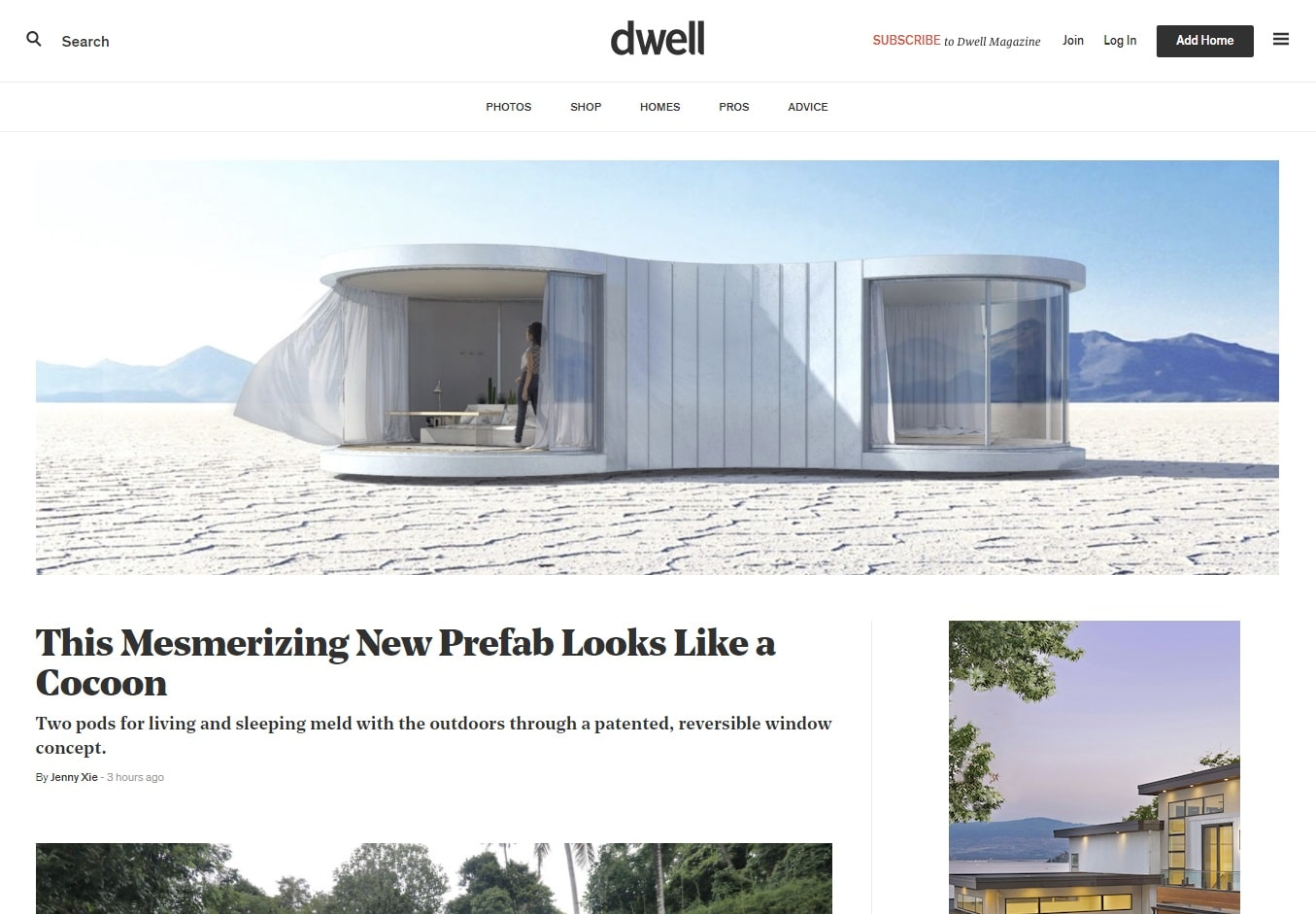 dwell architecture blogs