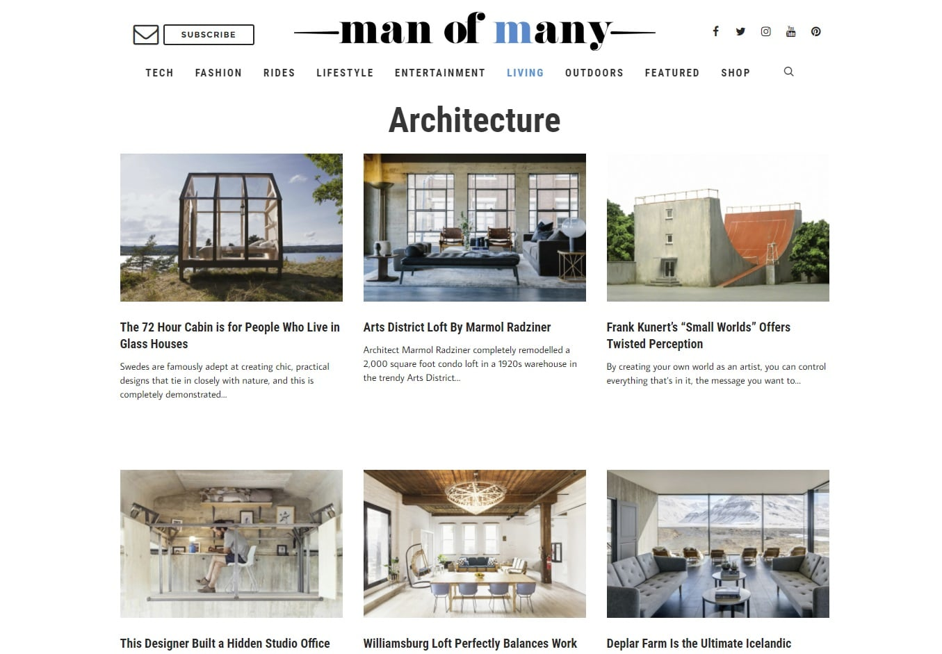 man of many architecture blogs