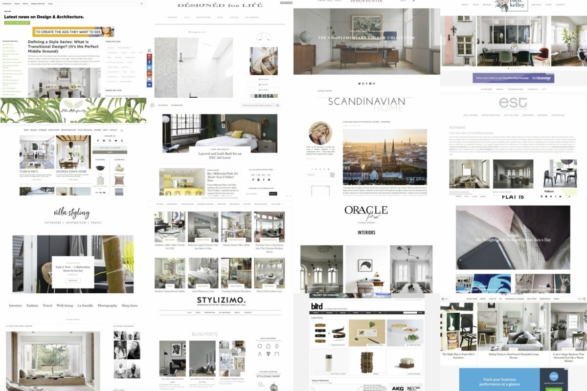23 best interior design blogs