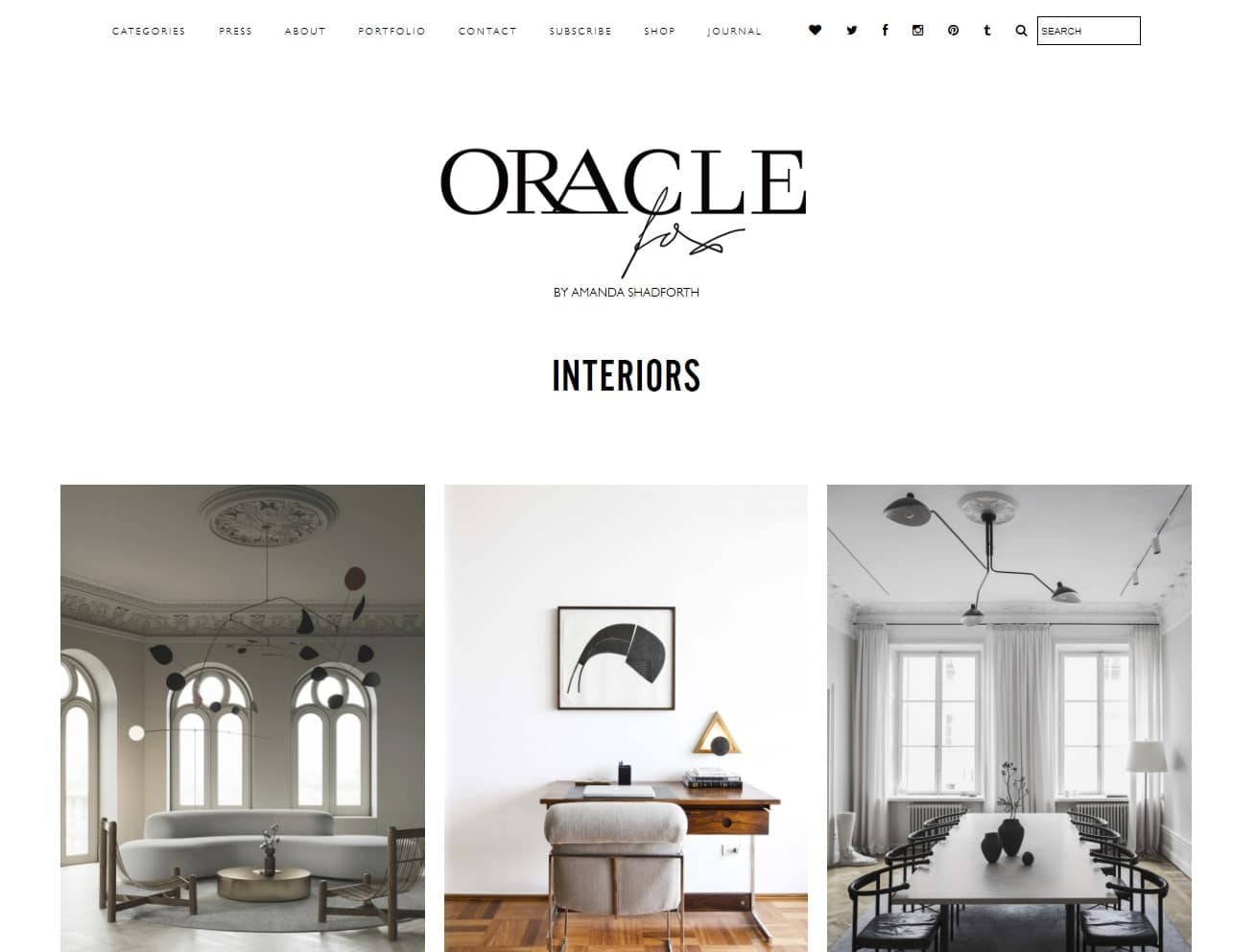 Oracle Fox industry interior design leader