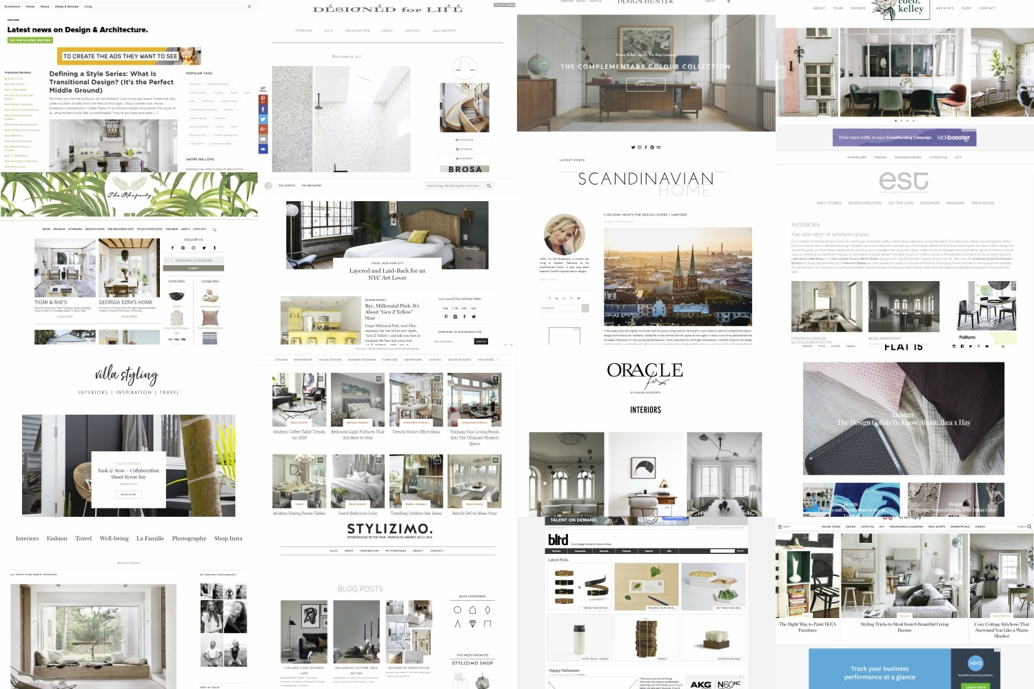 23 Best Interior Design Blogs and Websites | Man of Many
