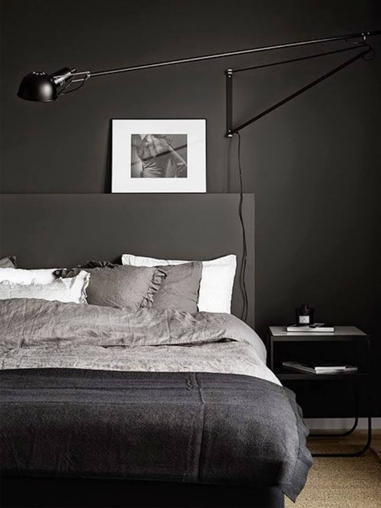 masculine bedroom nice interior decoration