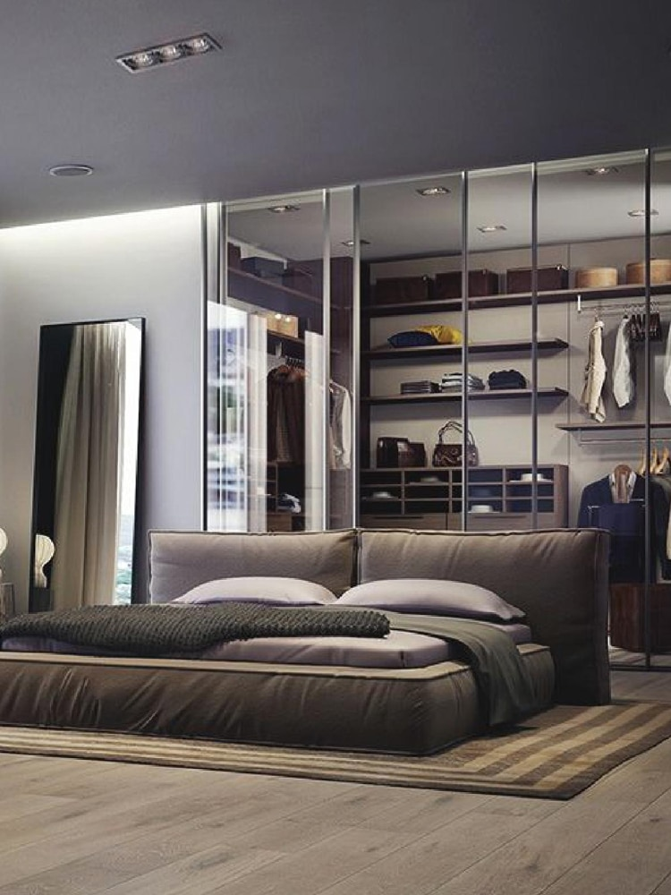 Masculine Bedroom Patterns By Way Of Carpeting