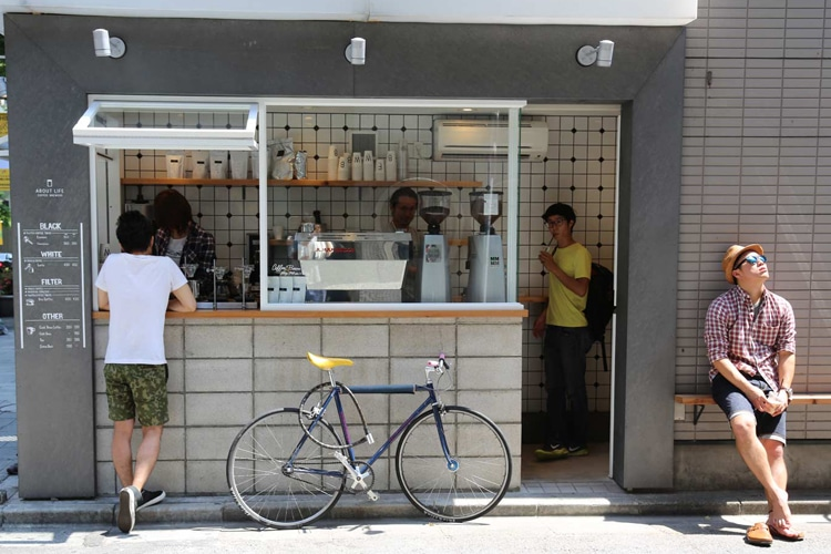 tokyo city about life coffee
