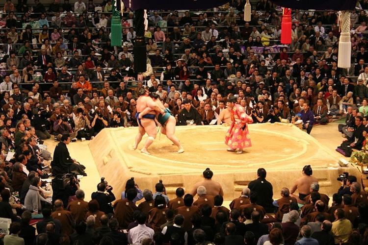 tokyo city ryogoku kokugikan grand sumo