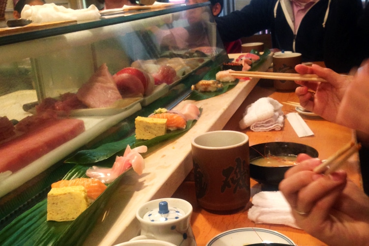 tokyo city street food