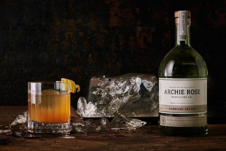 archie rose copper cocktail set