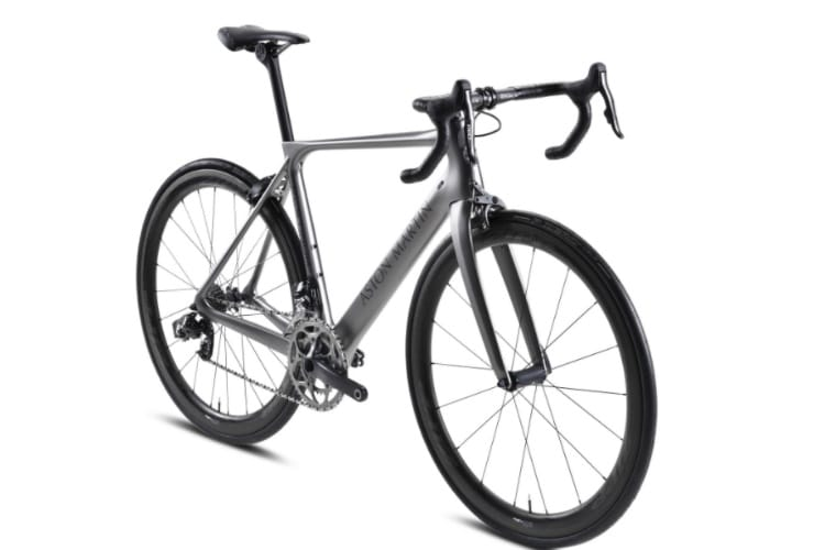 aston martin launch luxury bicycle body shape