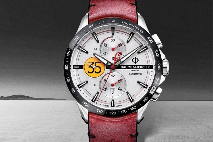 baume et mercier clifton limited edition