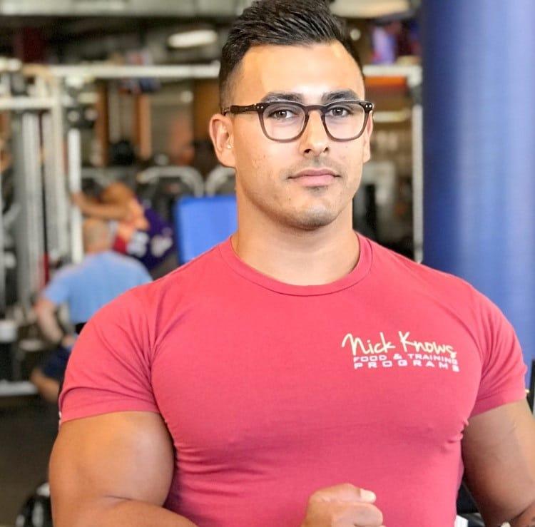 stand condition a bodybuilder