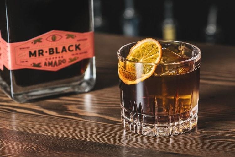 original mr black coffee amaro italian liqueur