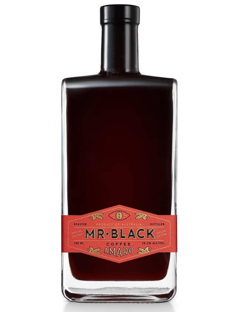mr black coffee amaro italian liqueur full view