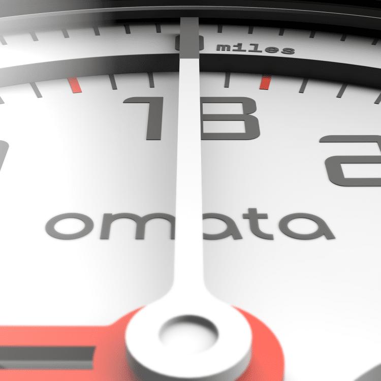 omata bike white meter