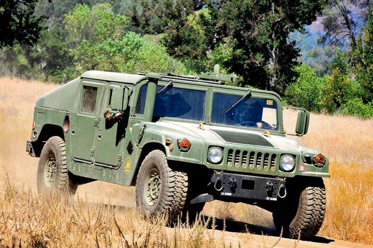 military surplus humvee front
