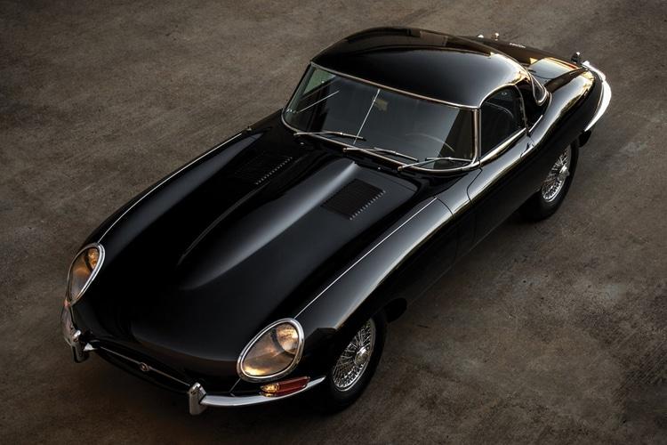 jaguar e-type series launched