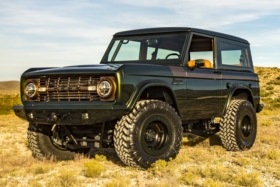 restored 1976 ford bronco