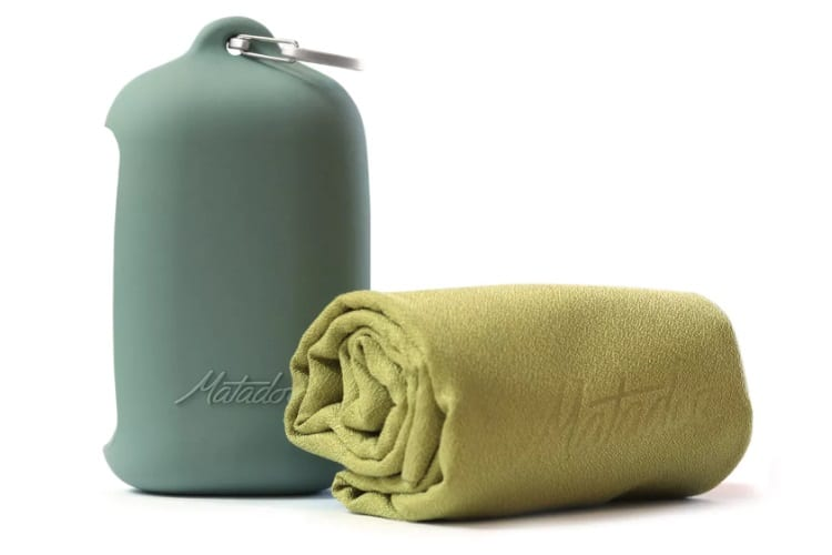 christmas gift guide matador nanodry towel