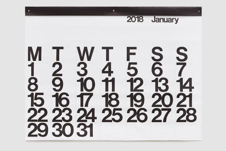 christmas gift guide stendig wall calendar 2018