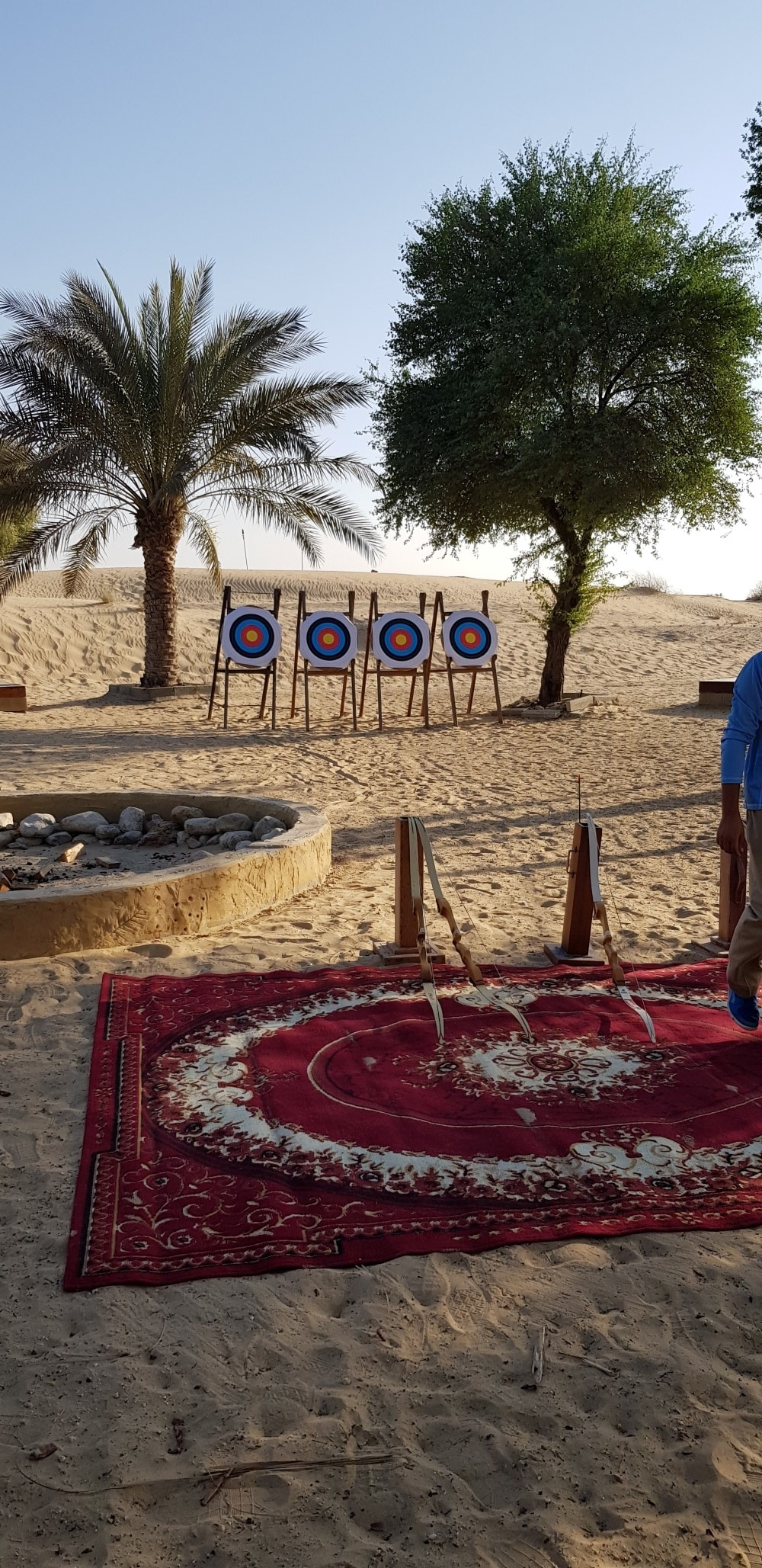 dubai city hotel archery part