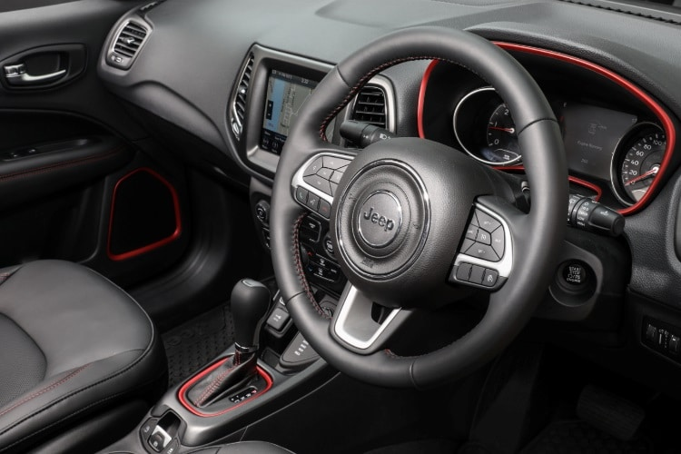 jeep compass trailhawk steering