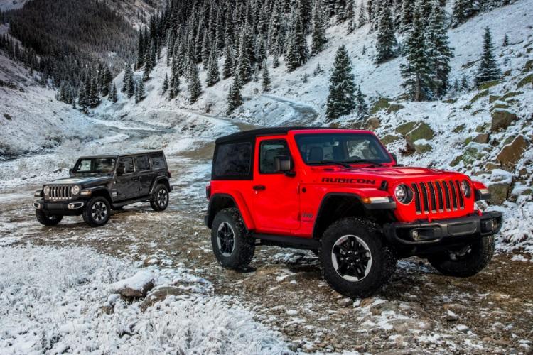 jeep wrangler beside mountain