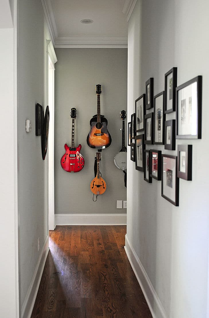 alternatives wall mounted guitar