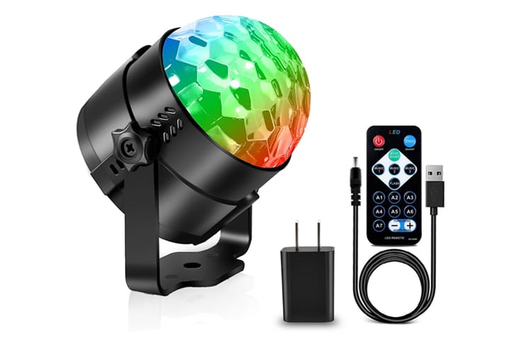 aomees strobe light disco ball