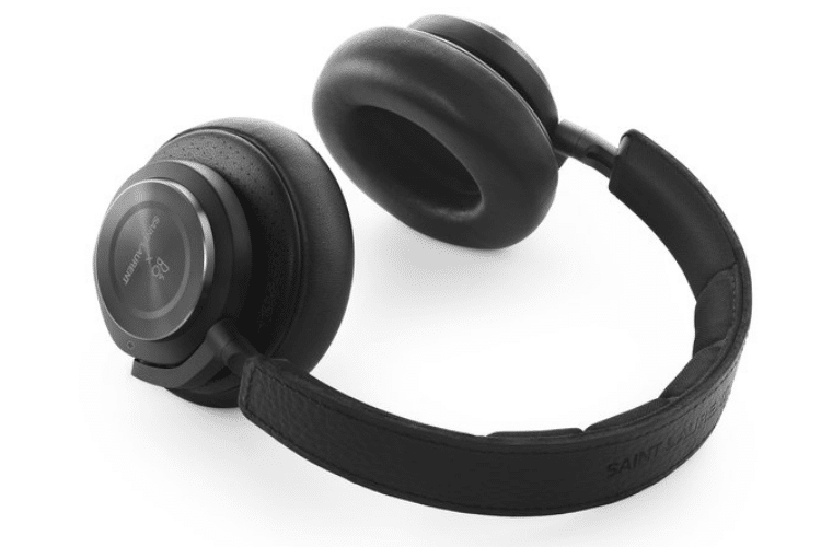 beoplay wireless headphones side view
