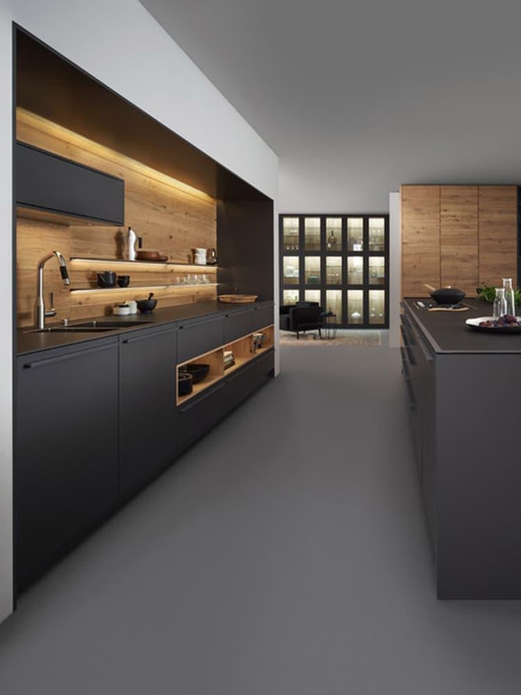interior design of minimalist kitchen