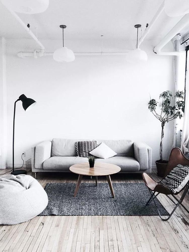 minimalist living room ideas sofa design