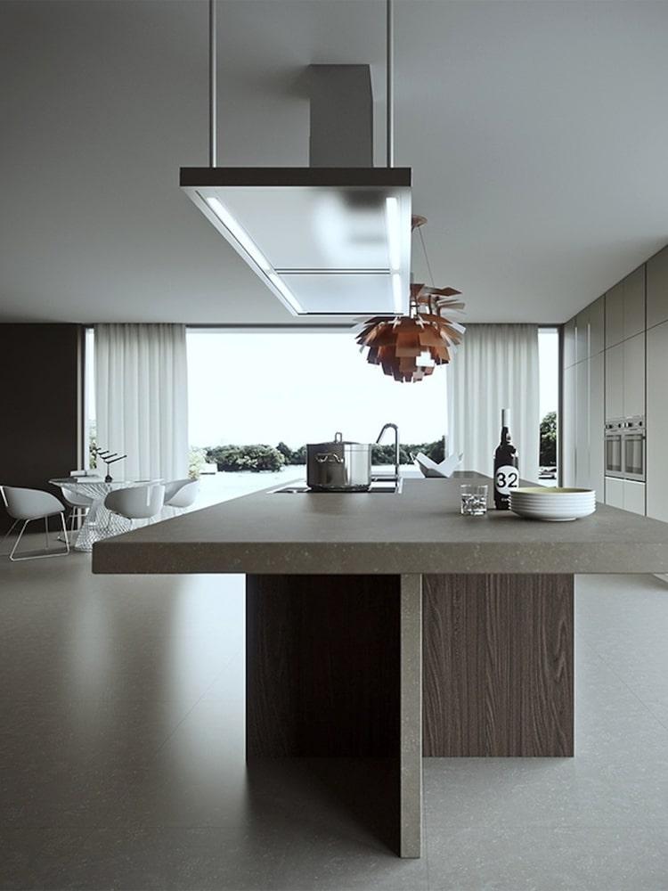 masculine kitchen clean environment