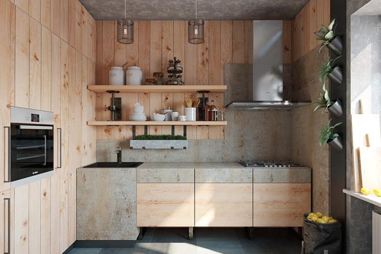 tips to achieve a masculine kitchen
