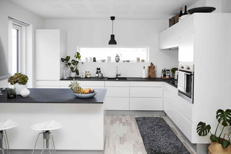 the right masculine kitchen