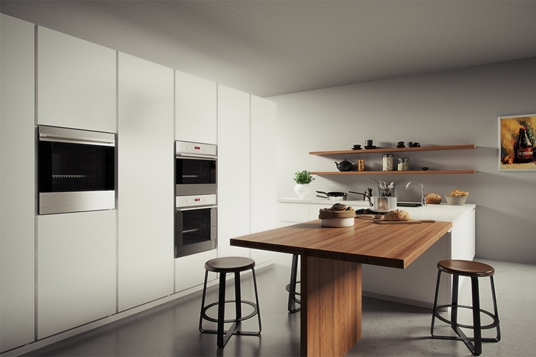 A Masculine Kitchen Is An Ideal Environment For Socialization