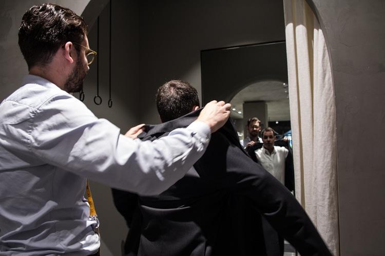 tailor wear men complete suit