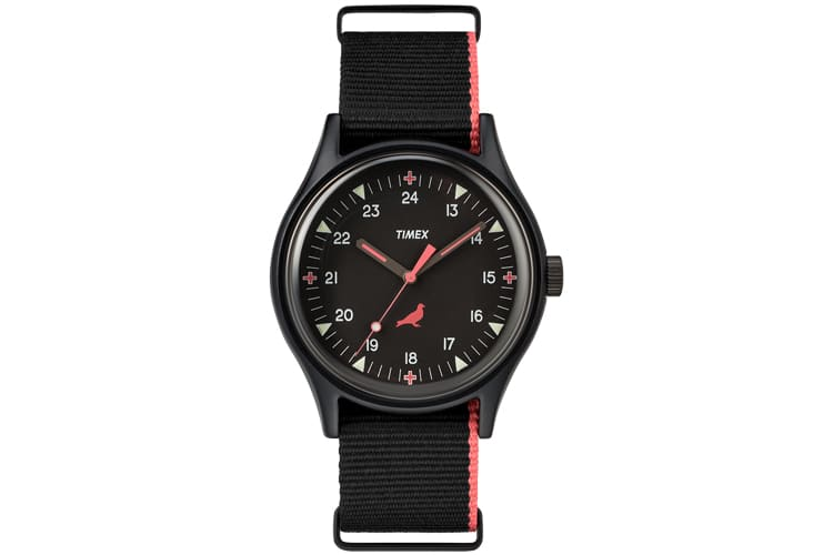 timex x staple mk1 aluminum watch