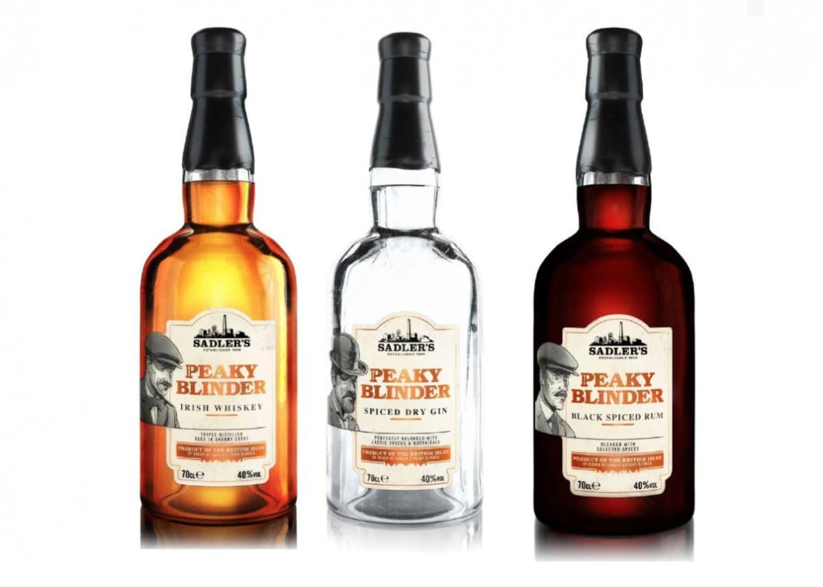 peaky blinders 3 type whisky gin rum